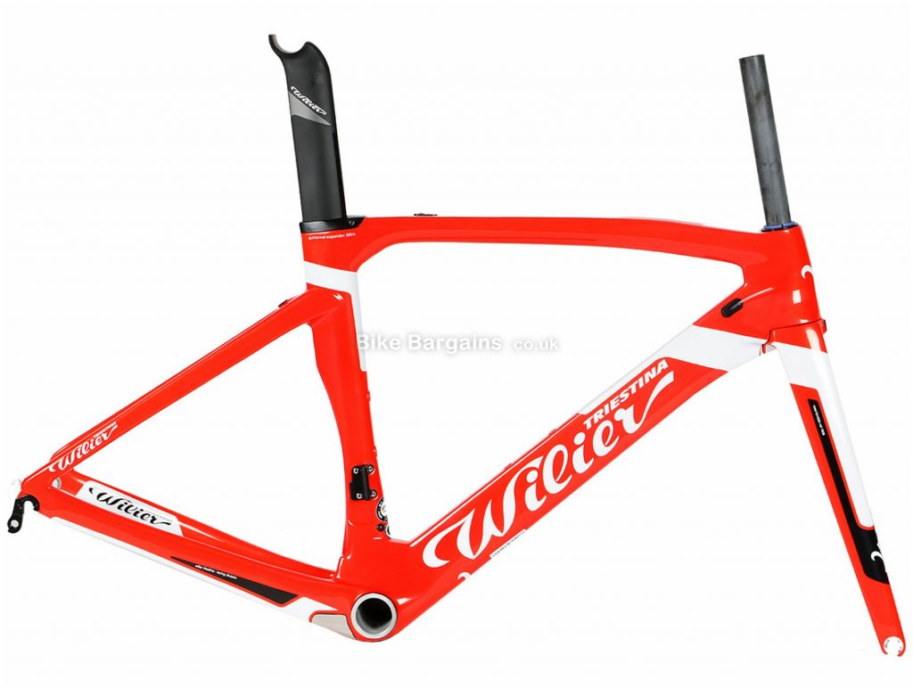 Wilier Cento 1 Air Carbon Road Frame XS, Red, White, Black, Carbon, 700c