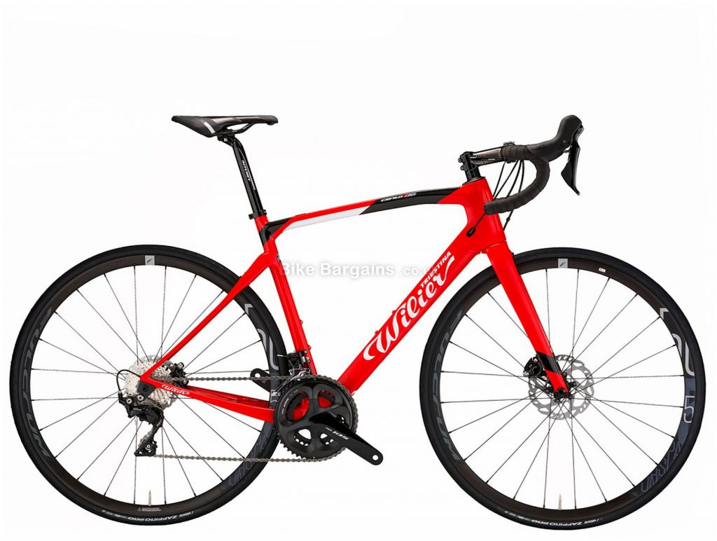Wilier Cento 1 NDR Ultegra Carbon Road Bike 2020 XL, Red, Blue, Carbon Frame, Disc Brakes, 22 Speed, 700c Wheels, Double Chainring