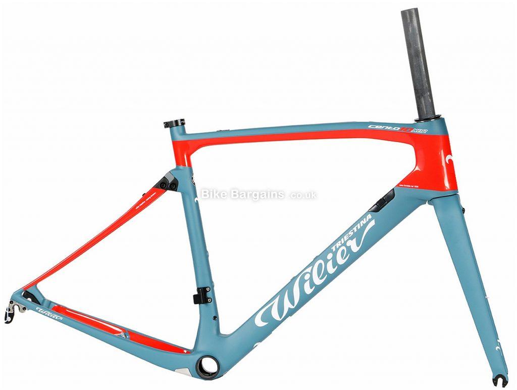Wilier Cento 10 NDR QR Carbon Road Frame XS, Blue, Black, Red, Carbon frame, Disc or Caliper Brakes
