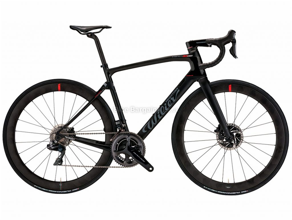 Wilier Cento 10 NDR Record Carbon Road Bike 2020 S, Black, Carbon Frame, Disc Brakes, 24 Speed, 700c Wheels, Double Chainring