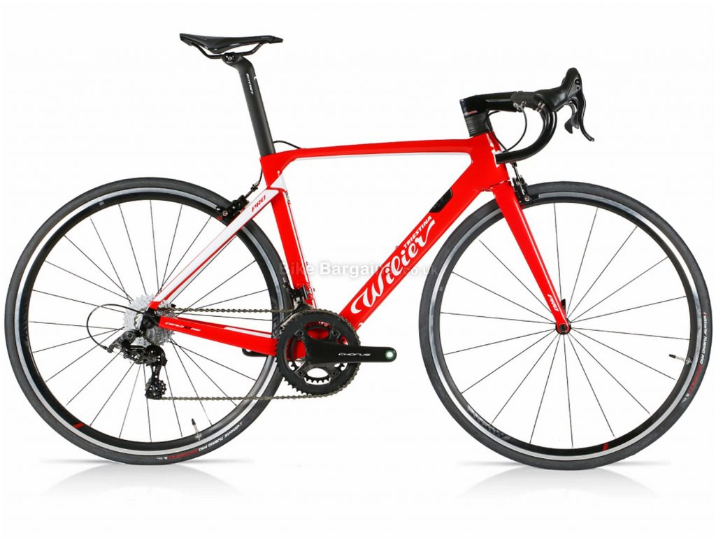 Wilier Cento 10 Pro Race Chorus Carbon Road Bike 2020 XL, Red, Black, Carbon Frame, Caliper Brakes, 24 Speed, 700c Wheels, Double Chainring