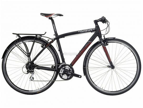 Wilier Cittadella Alloy City Bike S, Black, Alloy frame, 700c, 24 Speed, Caliper Brakes