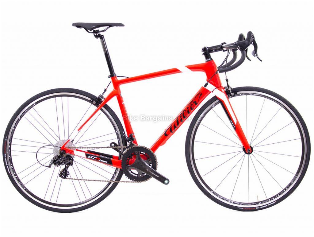 Wilier GTR Team Chorus Carbon Road Bike 2020 S, Red, White, Black, Carbon Frame, Caliper Brakes, 24 Speed, 700c Wheels, Double Chainring