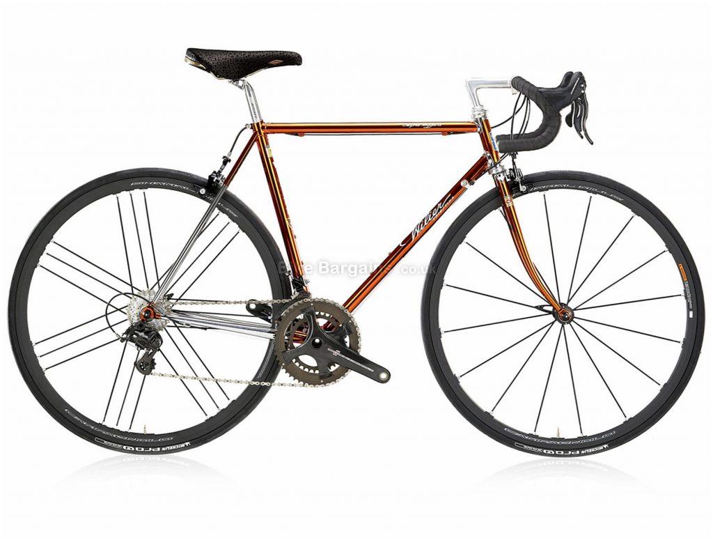 Wilier Superleggera SL Record Steel Road Bike 2020 48cm, Brown, Silver, Steel Frame, Caliper Brakes, 24 Speed, 700c Wheels, Double Chainring