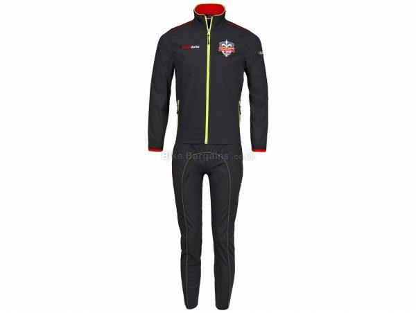 Wilier Team Selle Italia Summer Tracksuit XS,S, Black, Long Sleeve