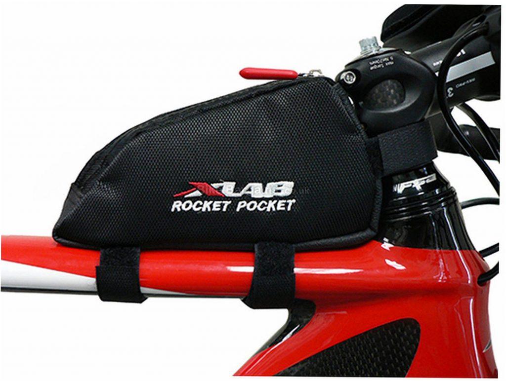 XLAB Rocket Pocket Top Tube Bag 0.36 Litres, 16cm, 8cm, 4cm, Black, 54g