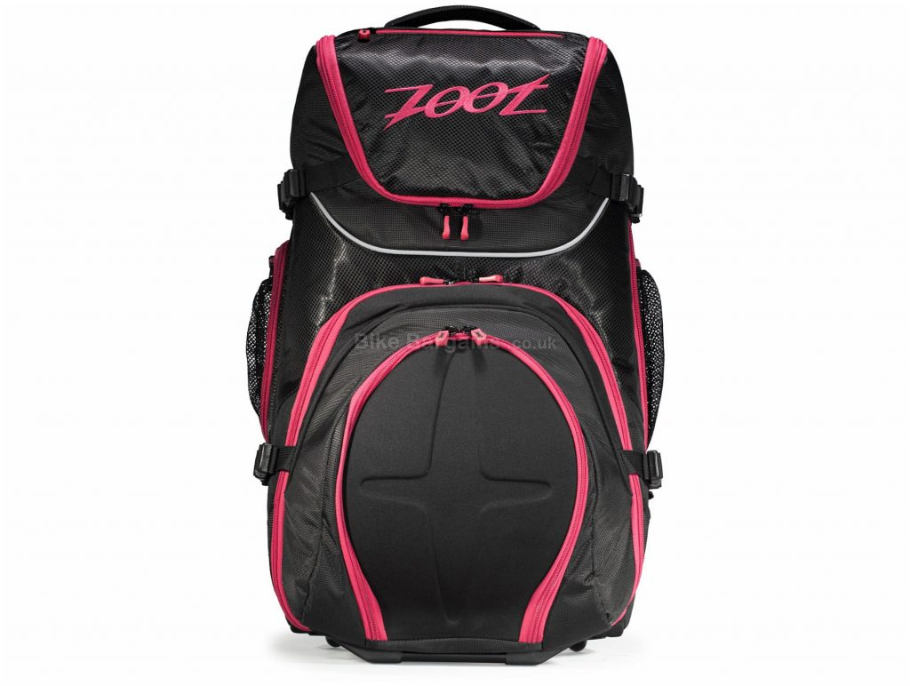 Zoot Ultra Tri Carry On Bag 2.0 Backpack One Size, Black, Pink
