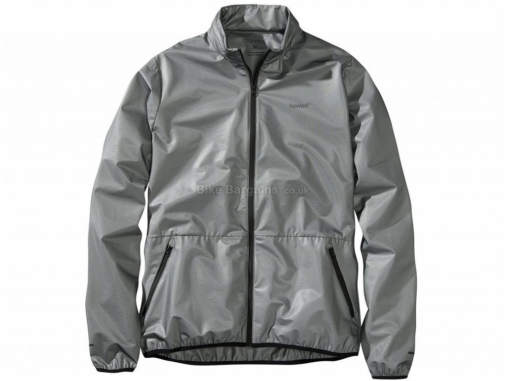 Howies Bolt Jacket S,M, Grey, Long Sleeve, Polyester