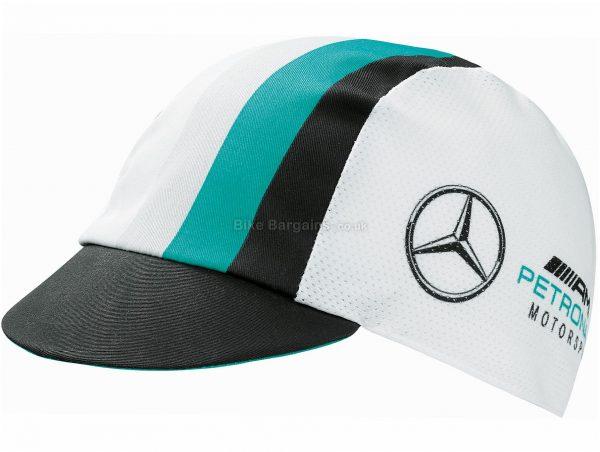 Assos FF1 Cap One Size, White, Black, Turquoise, Unisex, Cotton, Polyester, Elastane