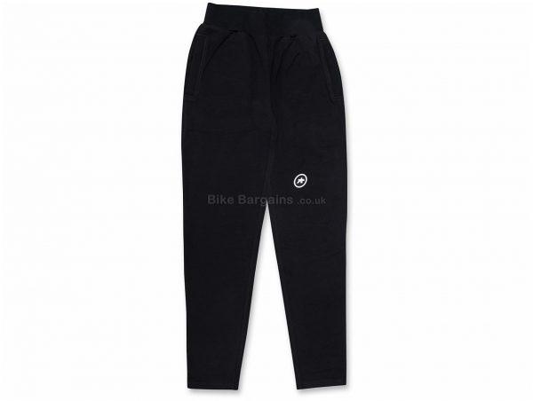 Assos Felpa Suisse Fed Pants XS, Black, Polyester