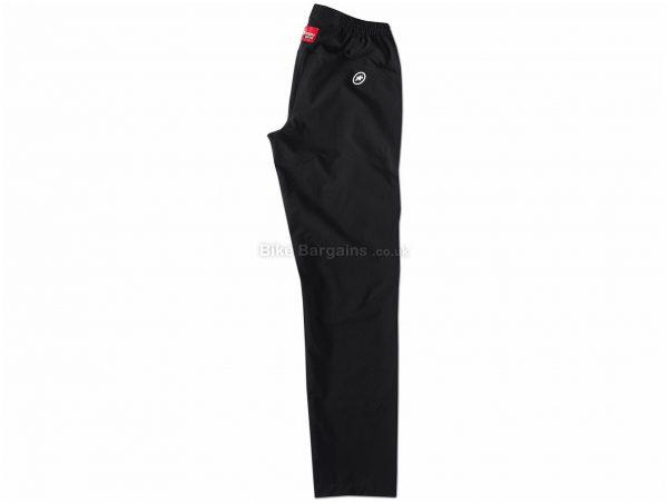 Assos Signature Track Pants XL, Black, Polyester