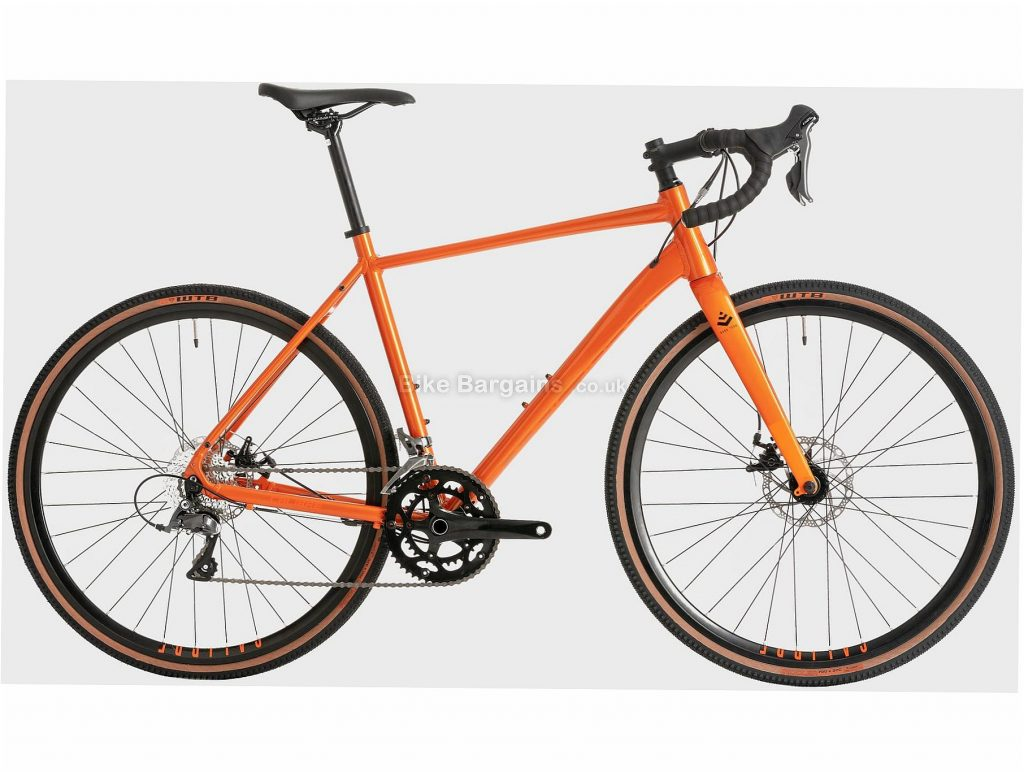 Calibre Dark Peak Alloy Road Bike S,M,L, Orange