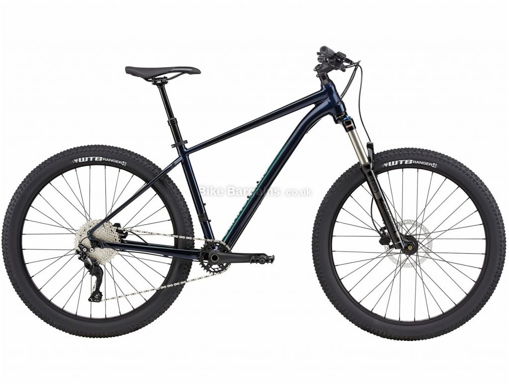 """Cannondale Cujo 3 Alloy Hardtail Mountain Bike 2020 M, Blue, Black, Disc Brakes, Single Chainring, 10 Speed, Hardtail, 27.5"""", Alloy"""