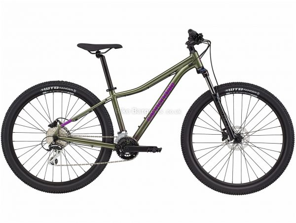 """Cannondale Trail 6 29er Ladies Alloy Hardtail Mountain Bike 2021 S, M, Green, Black, Purple, Disc Brakes, Double Chainring, 16 Speed, Hardtail, 29"""", Alloy"""