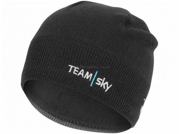 Castelli Team Sky GPM Beanie One Size, Black, Acrylic