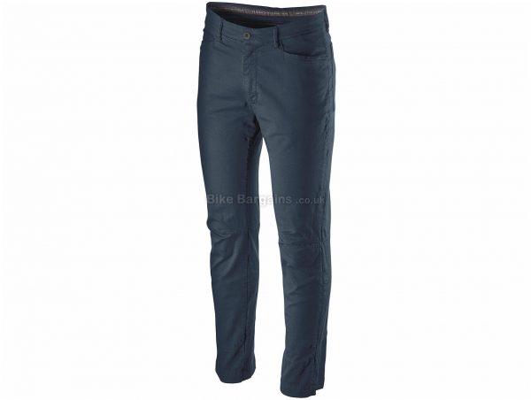 Castelli VG 5 Pocket Trousers XXL, Green, Blue, Men's, Baggy, Cotton, Elastane