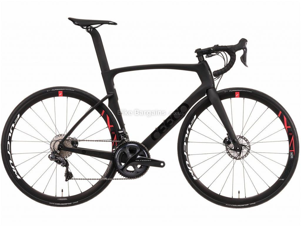 Ceepo Mamba-R Ultegra Di2 Carbon TT Road Bike M, Grey, Black, Carbon Frame, 700c Wheels, Disc Brakes, 22 Speed
