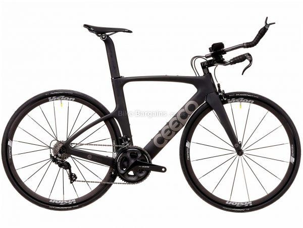 Ceepo Venom R7000 105 Carbon TT Road Bike 2020 S, Black, Grey, Carbon Frame, 700c Wheels, Caliper Brakes, 22 Speed