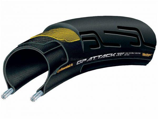 Continental Grand Prix Attack II Folding Road Tyre 700c, 22c, Folding, Black, Kevlar, 175g