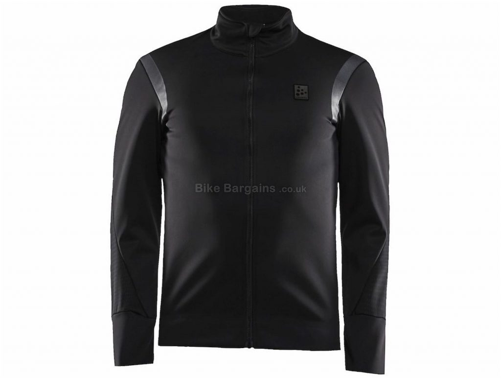 Craft Hale SubZ Jacket XS, Black, Men's, Long Sleeve, Polyester