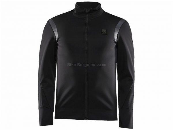 Craft Hale SubZ Jacket XS, Black, Men's, Long Sleeve, Polyester