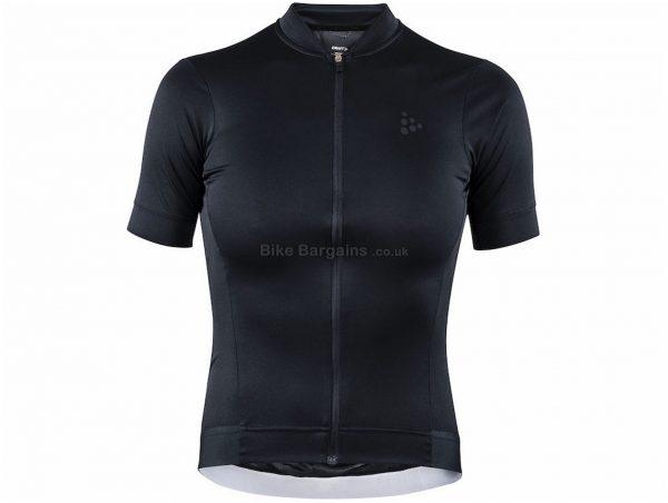 Craft Ladies Essence Short Sleeve Jersey XL, Pink, Ladies, Short Sleeve, Polyester