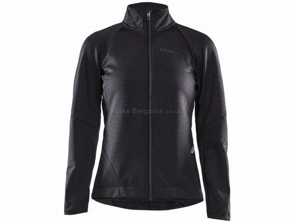 Craft Ladies Ideal Jacket XS, Black, Ladies, Long Sleeve, Polyester