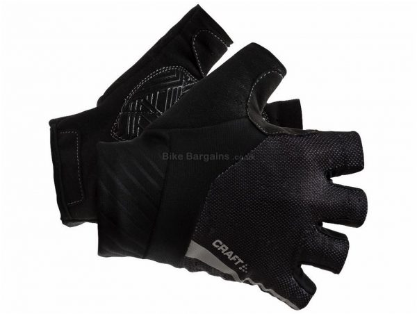 Craft Rouleur Mitts M,L, Black, Mitts, Unisex, Gel, Polyester