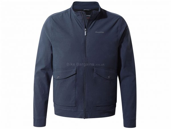 Craghoppers NosiLife Varese Jacket S, Blue, Long Sleeve, Polyamide, Elastane