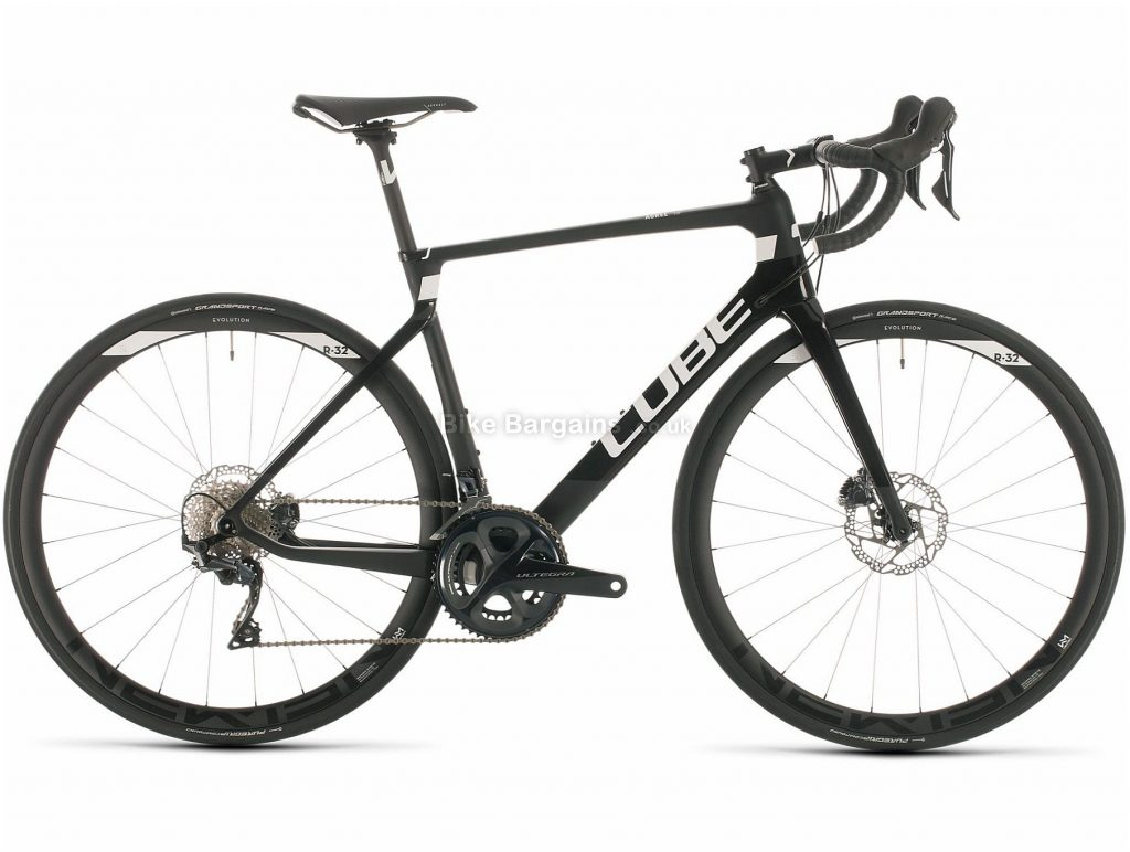 Cube Agree C:62 Race Carbon Road Bike 2020 56cm, Black, White, Carbon Frame, 700c Wheels, Disc Brakes, 22 Speed, 8.2kg