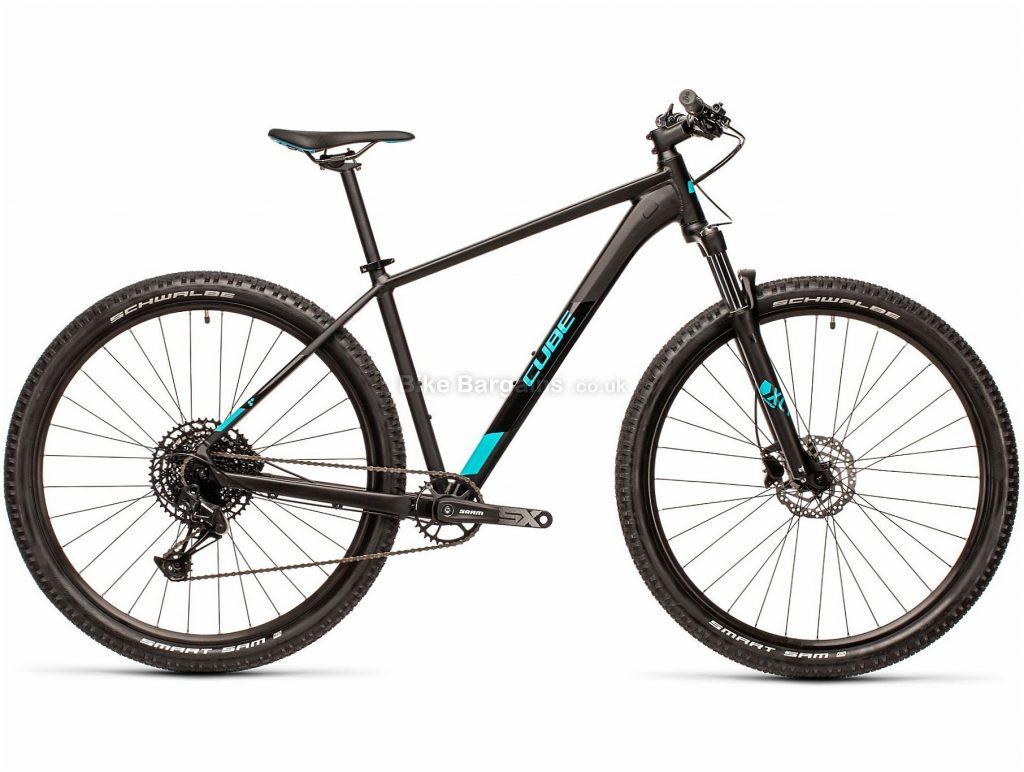 "Cube Analog 29 Alloy Hardtail Mountain Bike 2021 17"", Black, Disc Brakes, Single Chainring, 12 Speed, Hardtail, 29"", 14.1kg, Alloy"