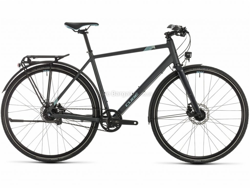 Cube Travel EXC Alloy Touring City Bike 2020 54cm, Grey, Alloy Frame, 700c Wheels, Disc Brakes, 8 Speed, 13.9kg