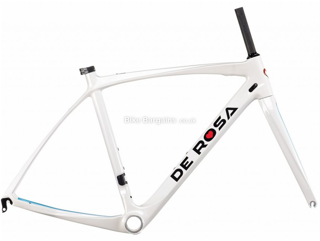De Rosa Idol Carbon Road Frame 2020 59cm, White, Caliper Brakes, 700c, 1.62kg, Carbon