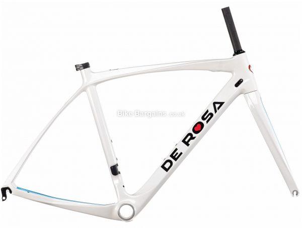 De Rosa Idol Carbon Road Frame 2020 59cm, White, Caliper Brakes, 700c, 1.62kg, Carbon