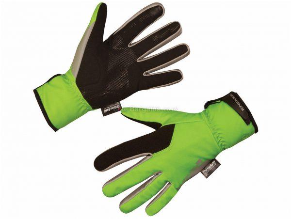 Endura Deluge II Waterproof Full Finger Gloves XS, Black, Grey, Men's, Full Finger, Nylon, Polyester, Polyurethane, Elastane