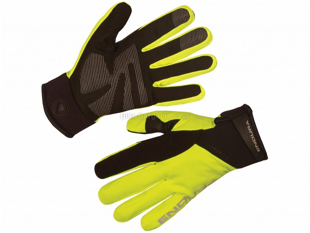 Endura Strike II Full Finger Gloves XXL, Black, Men's, Full Finger, Polyamide, Polyester, Polyurethane, Elastane