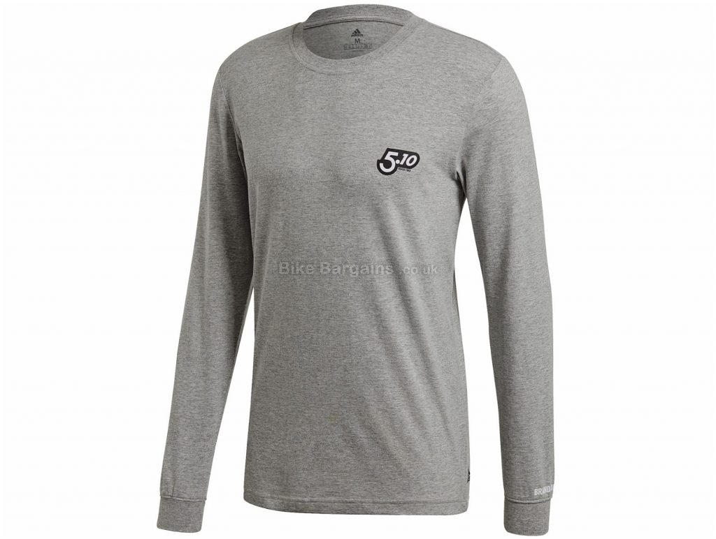 Five Ten GFX Long Sleeve T-Shirt S,M,L,XL,XXL, Black, Long Sleeve, Men's, Cotton