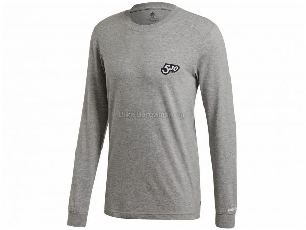Five Ten GFX Long Sleeve T-Shirt S, Black, Long Sleeve, Men's, Cotton