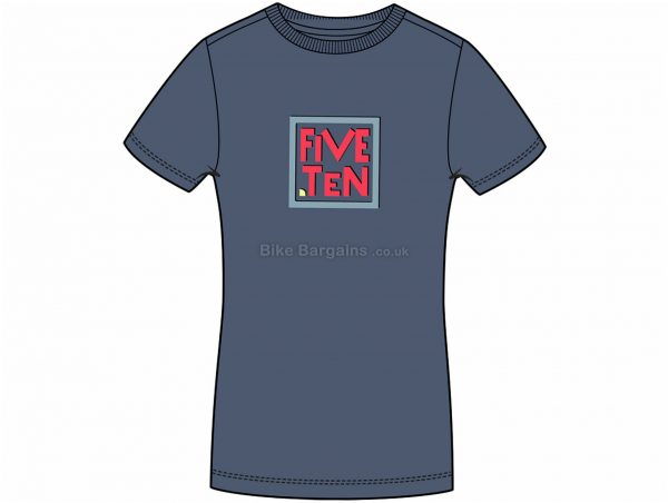 Five Ten Ladies GFX Short Sleeve T-Shirt XS - some are slightly extra, White, Ladies, Short Sleeve, Cotton