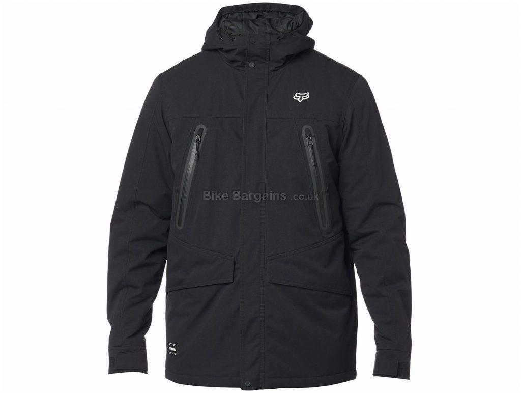 Fox Arlington Jacket L, Black, White, Red, Men's, Long Sleeve, Polyamide