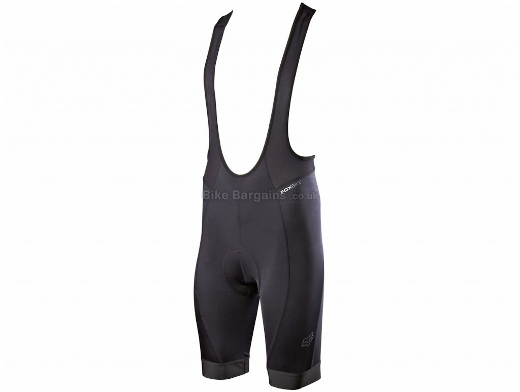 Fox Evolution Liner Bib Shorts S, Black, Men's, Tight, Polyester, Elastane