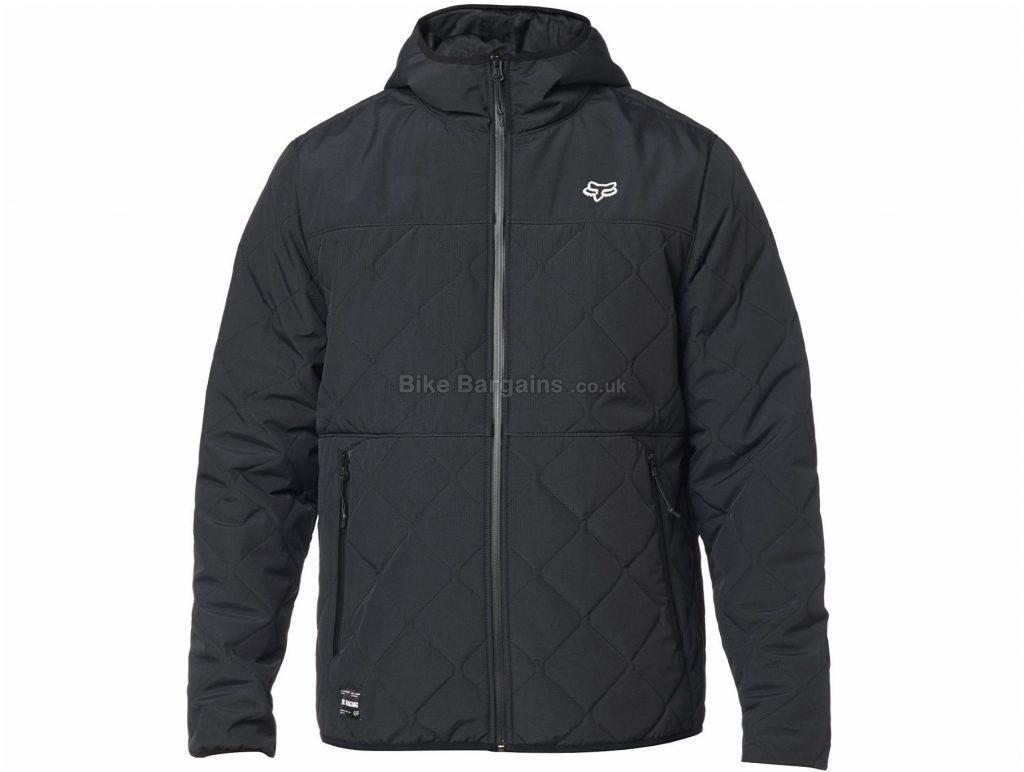 Fox Skyline Jacket S, Black, White, Red, Men's, Long Sleeve, Polyester