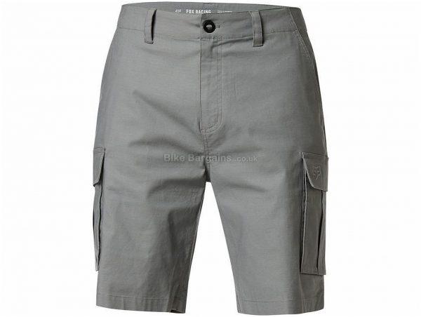 "Fox Slambozo 2.0 MTB Shorts 28"", Brown, Men's, Baggy, 220g, Cotton, Elastane"