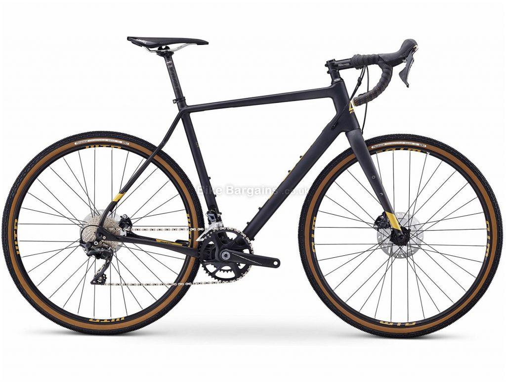 Fuji Jari Carbon 1.1 Carbon Adventure Gravel Bike 52cm, Grey, Carbon Frame, 700c Wheels, Disc Brakes, 22 Speed