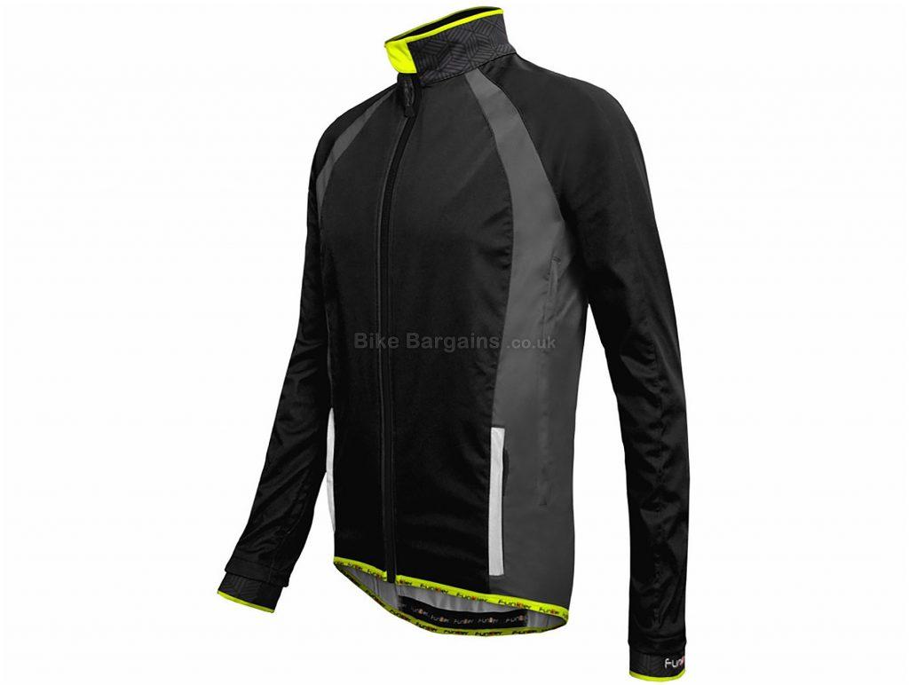 Funkier Tacona Soft Shell Windstopper Jacket S, Blue, Men's, Long Sleeve, Polyester