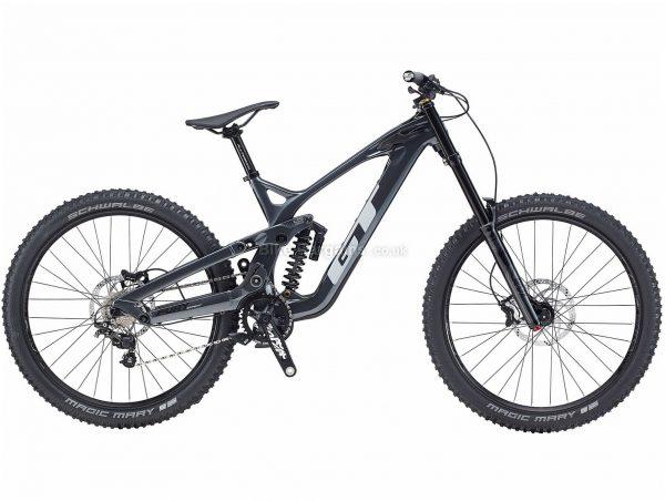 "GT Fury Expert 27.5 Carbon Full Suspension Mountain Bike 2020 S, Grey, 10 Speed, Carbon Frame, 27.5"" Wheels, Disc Brakes, Full Suspension"