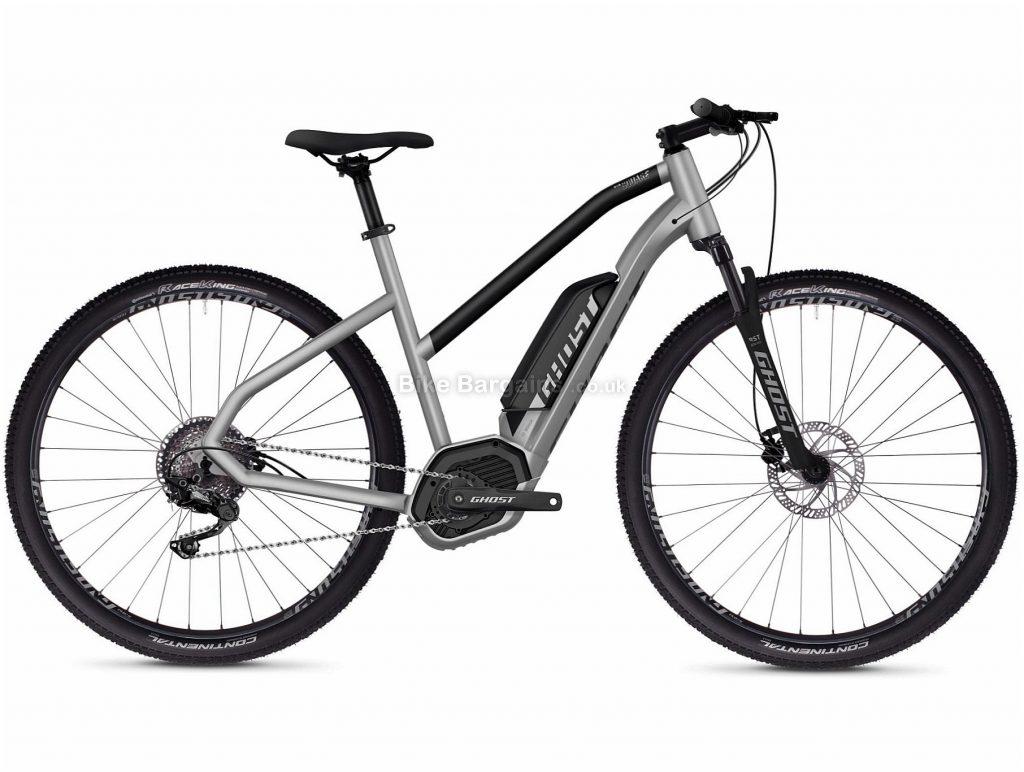 "Ghost Hybride Square Cross B2.9 Ladies Alloy Electric Bike 2020 M, Silver, Black, 10 Speed, Alloy Frame, 29"" Wheels, Disc Brakes, 22kg"