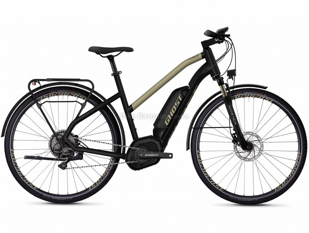 Ghost Hybride Square Trekking W B5.8 Ladies Alloy Electric Bike 2020 XS, Gold, Black, 11 Speed, Alloy Frame, 700c Wheels, Disc Brakes, 25.5kg