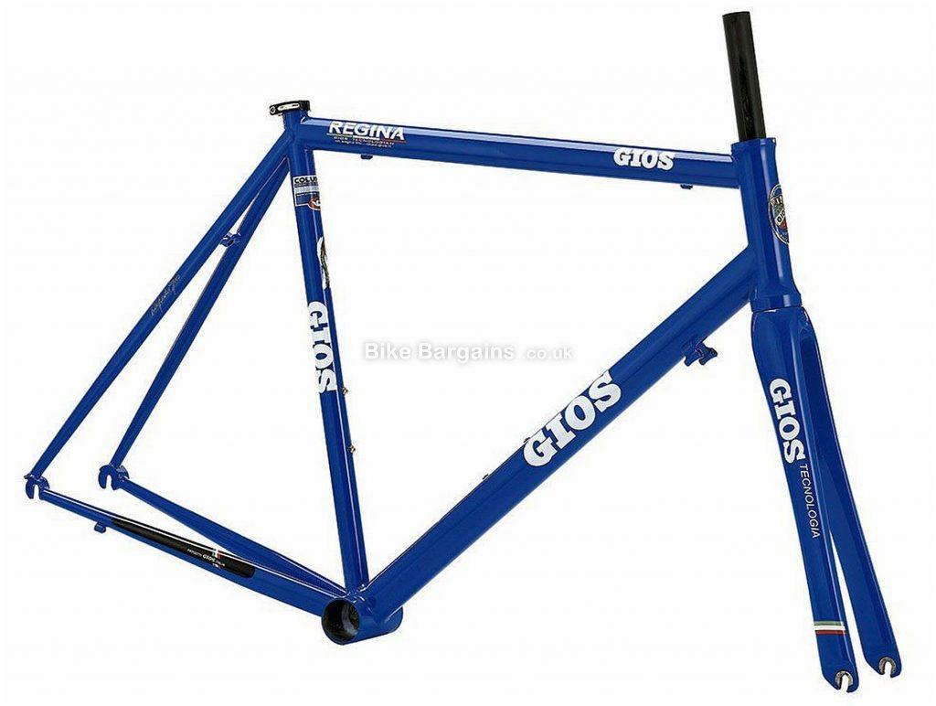Gios Regina Steel Road Frame 2020 50cm, Blue, Caliper Brakes, 700c, 2.27kg, Steel