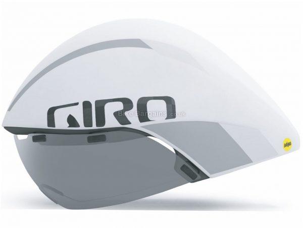 Giro Aerohead Ultimate MIPS Helmet L, Black, White, Silver, 450g, Unisex, Polycarbonate